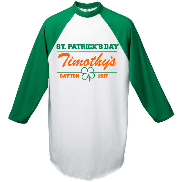 Timothy's St. Patrick's Day Shirt Fundraiser 2017