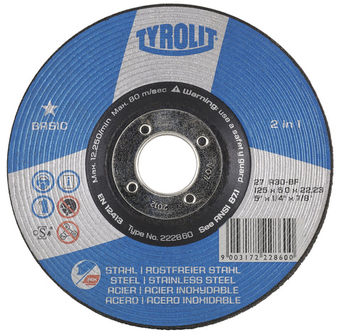 Basic 2 in 1 - Depressed Center Grinding Wheels