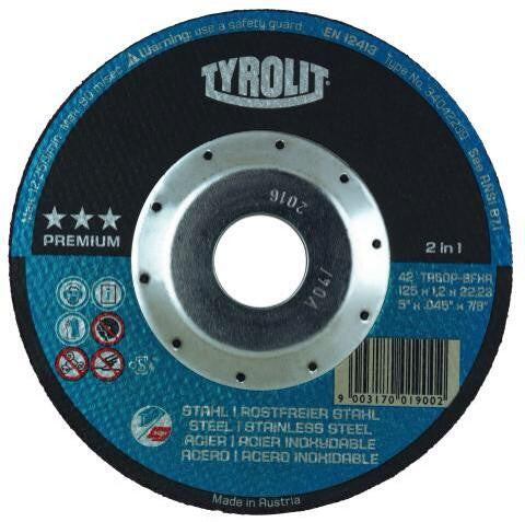 Tyrolit Thin Cut-Off Wheels / Type-27 (Depressed Center)