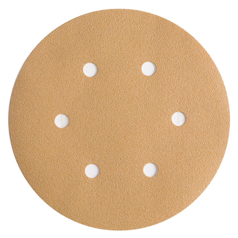 Premium Gold-Hook & Loop Sanding Discs