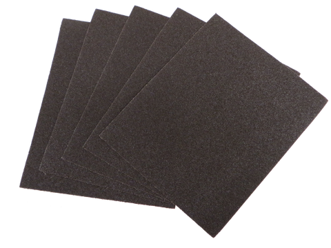 "9"" x 11"" Sanding Sheets - Cloth Backed"