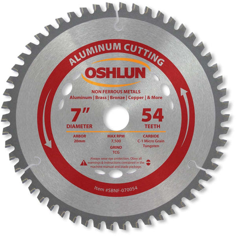 Carbide Tipped Blades for Aluminum & Non-Ferrous Metals