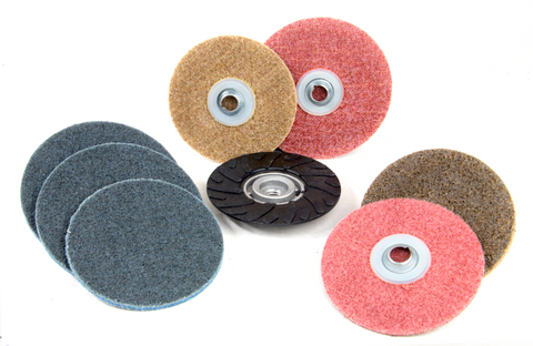 Large Diameter Quick Change Surface Conditioning Discs