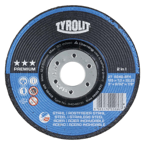 Premium 2 in 1 - Depressed Center Grinding Wheels