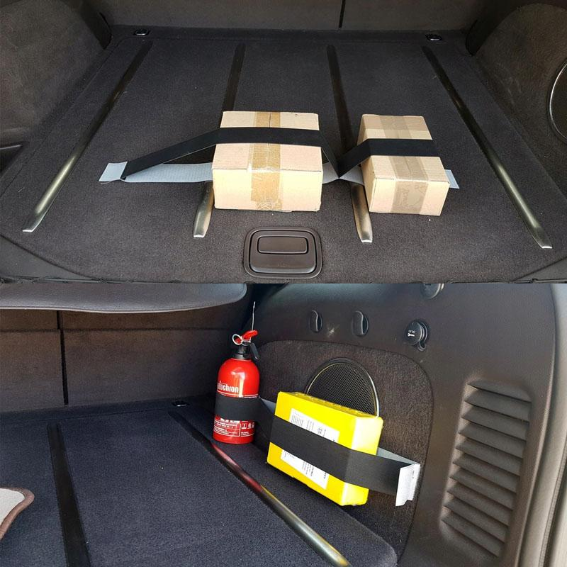 Car Trunk Stowage Fixing Velcro Straps