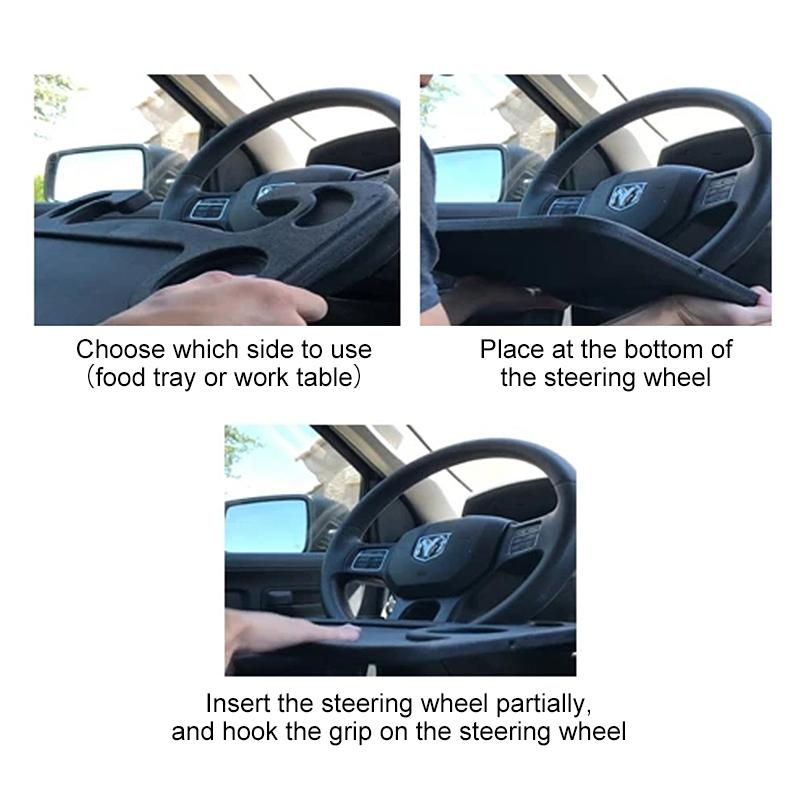 Multifunctional Car Steering Wheel Rack