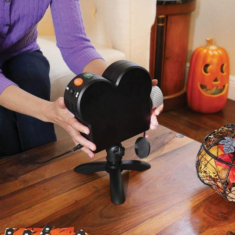 Digital Decor Ghost Projector for Halloween & Christmas