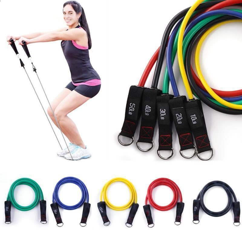 Home Fitness Pull Elastic Cord Set