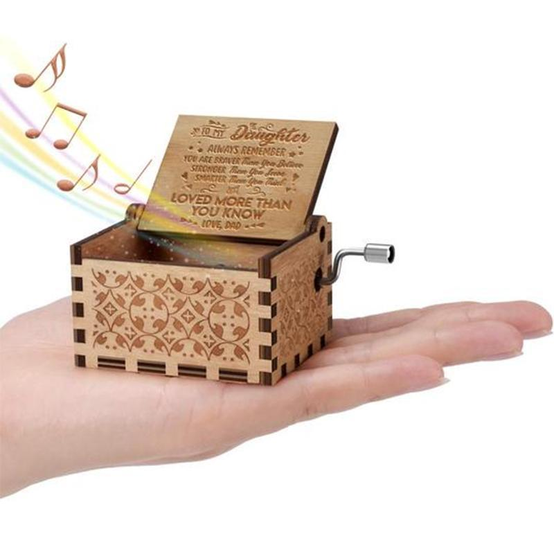Wooden Music Box You Are My Sunshine
