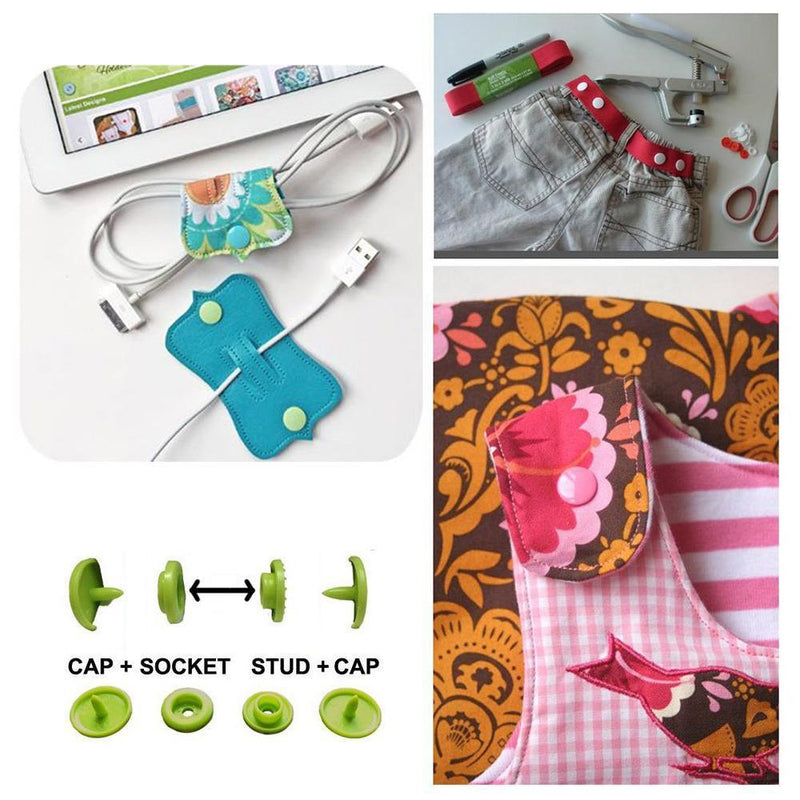 Snap Button DIY Set (150 Pcs Set)