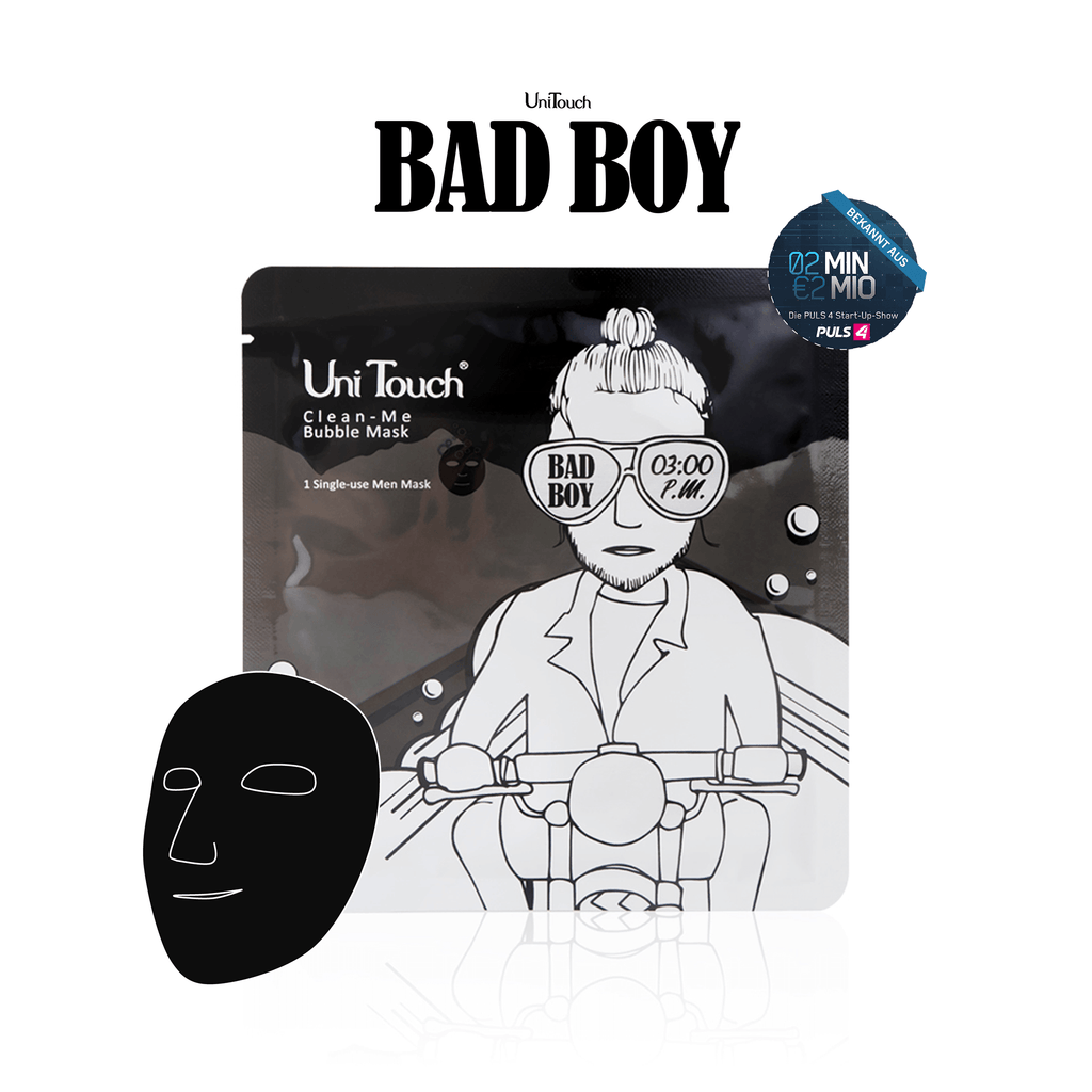 UniTouch Bad Boy Clean Me Gesichtsmaske