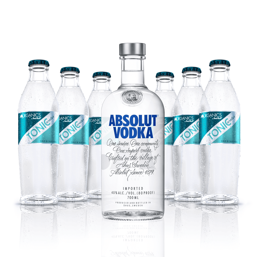 Absolut Vodka - Mixing Package - Tonic Water