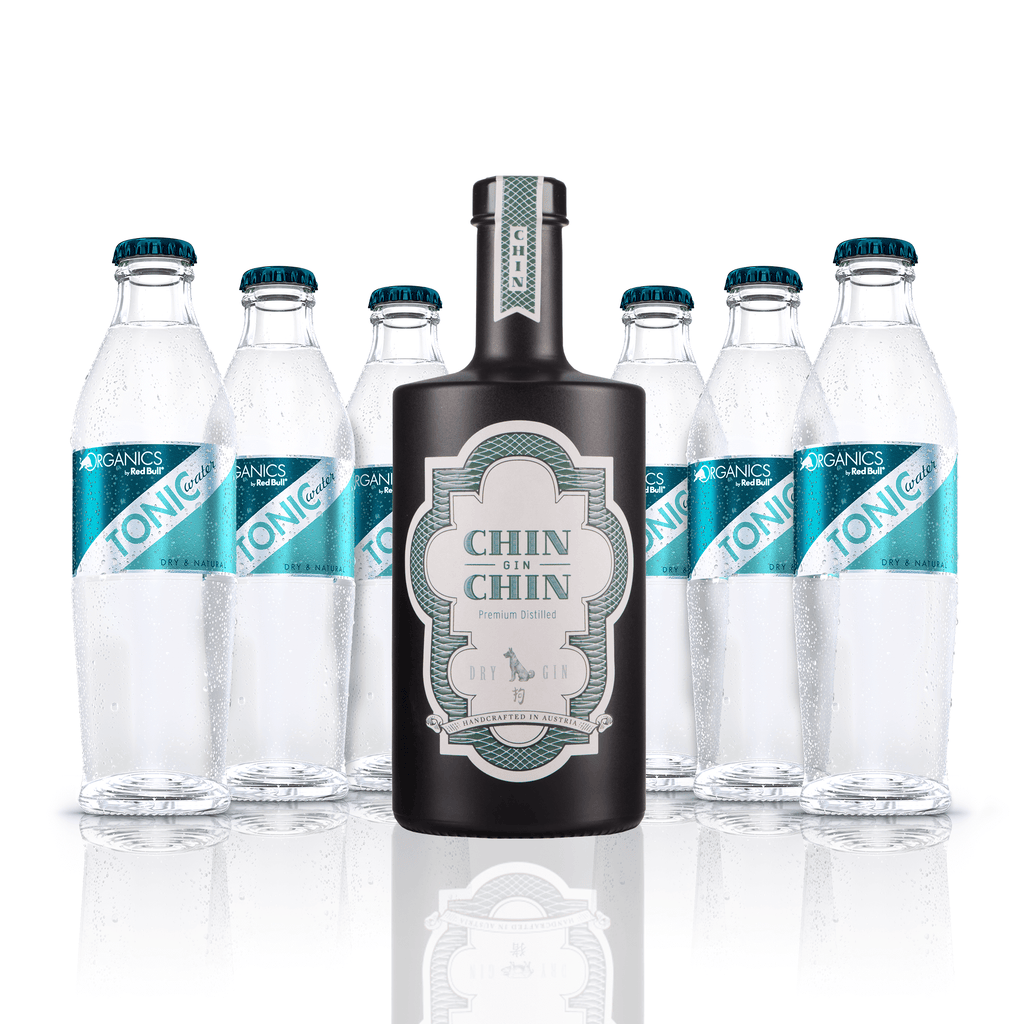 Chin Chin Gin & ORGANICS by Red Bull Tonic Water Pack