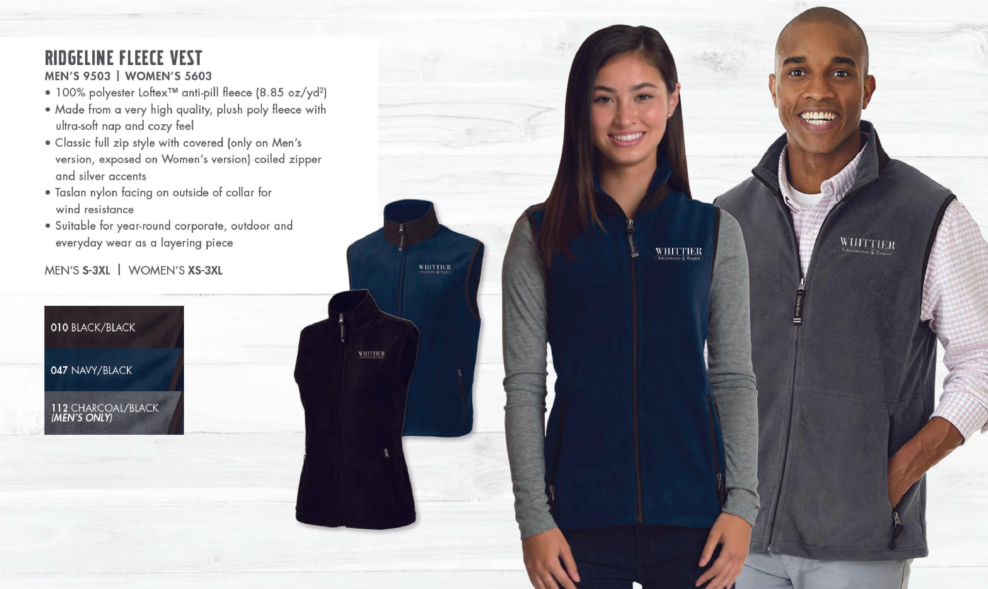 Whittier Women's Ridgeline Fleece Vest