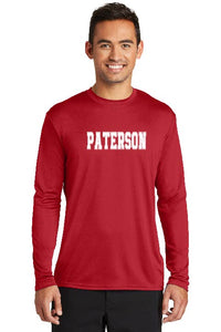 Paterson Long Sleeve Moisture Wicking Red Tee