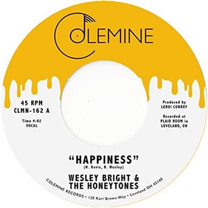 Wesley Bright & The Honeytones - Happiness