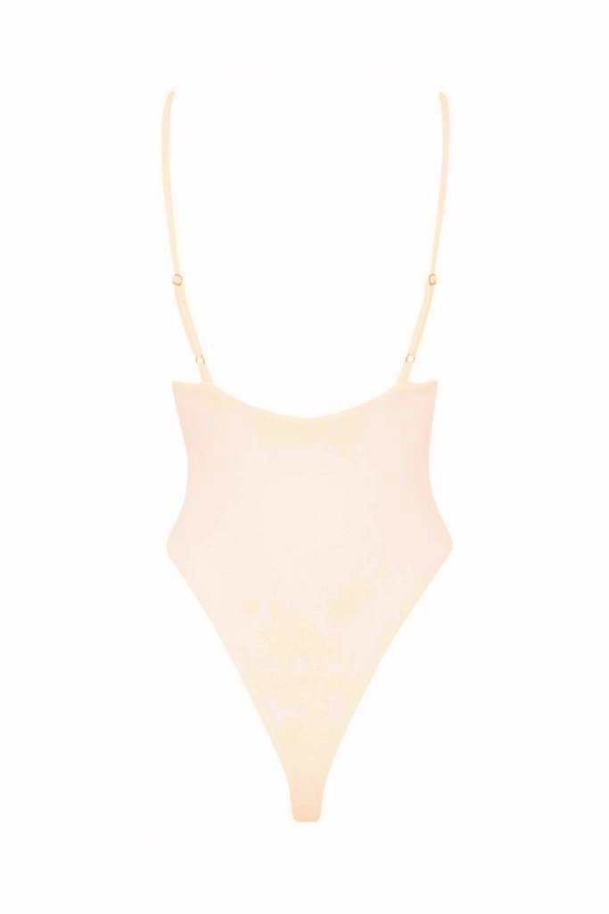 Byron Maillot - Blush -One Piece- White Sands Swimwear by Leah Madden