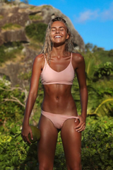 Byron Top - Blush -Top- White Sands Swimwear by Leah Madden