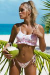 Loretta Top - Blush Rose -Bikini- White Sands Australian Designer Swimwear