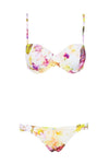 Nelly Top - Dripping Floral -Separates- White Sands Australian Designer Swimwear