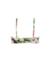 Avril Top - Nightlily Print -Bikini- White Sands Australian Designer Swimwear