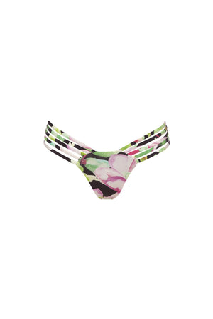 Avril Pant - Nightlily Print -Bikini- White Sands Swim by Leah Madden