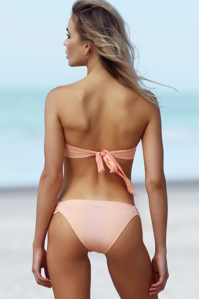 Gracie Top - Nectar -- White Sands Swim by Leah Madden