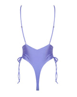 Airlie Maillot - Jacaranda -One Piece- White Sands Swimwear by Leah Madden