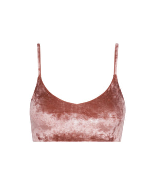 Byron Top - Rosé Velvet -Top- White Sands Swim by Leah Madden