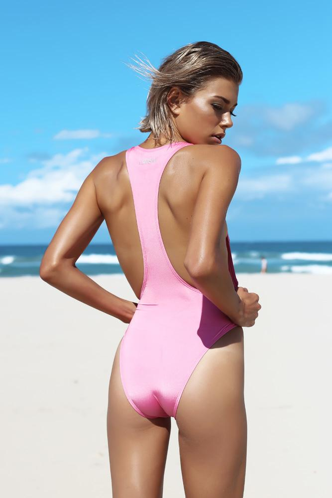 Playa Maillot -Maillot- White Sands Swim by Leah Madden