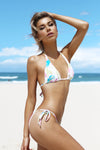 Precious-Large Tri Kini - Watercolour -Bikini- White Sands Australian Designer Swimwear