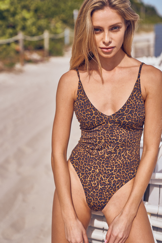 Byron Top - Leopard