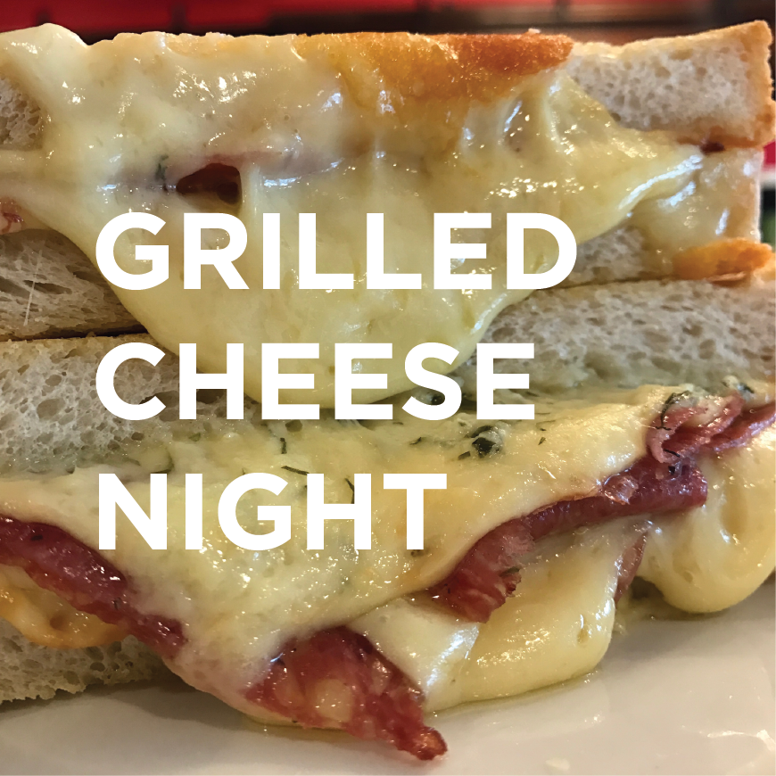 grilled cheese night