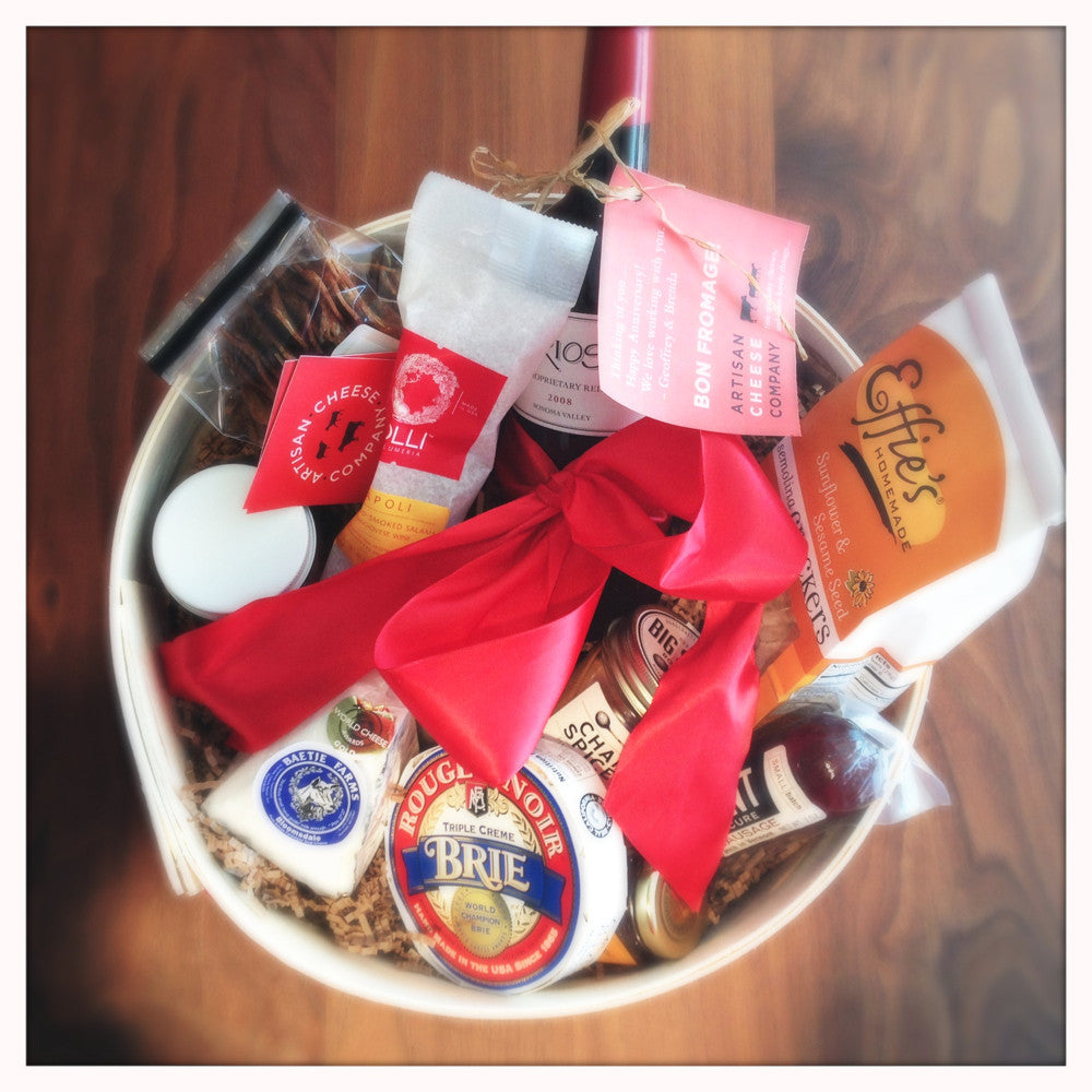 Signature gift baskets artisan cheese company negle Gallery