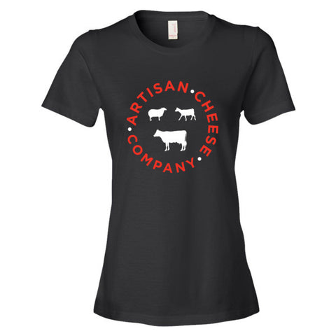 WOMEN'S BLACK T SHIRT