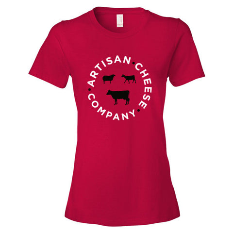 WOMEN'S RED T SHIRT