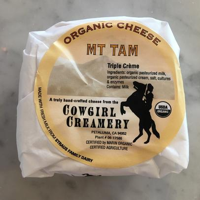the most amazing CowGirl Creamery MT Tam