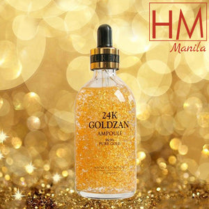 24k GOLDZAN AMPOULE Pure Gold Serum 100ml (Buy 1Take 1 Free)