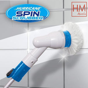 TURBO SPIN SCRUB CLEANING BRUSH MOP SCRUBBER BATH TILE FLOOR