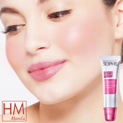 AUTHENTIC Sophie Paris Magic Pink Cream Lip & Cheek Tint