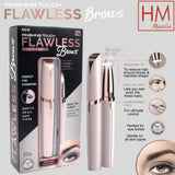 Flawless Electric Eyebrow Body Face Hair Trimmer
