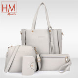 Elegant Korean Fashion 4n1 Sling Bag