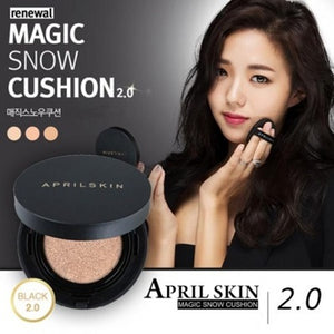 Buy 1 Take 1 Authentic April Skin Magic Snow Cushion SPF 50+ 15g