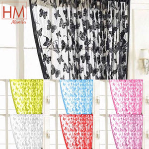 Butterfly String Curtain Tassel Drape For Wall Vestibule Door Window Home Decor