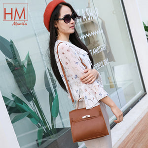 Mumu Korean Leather Fashion Sling Bag