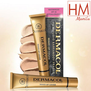 Buy 1 Take 2 + Free Shipping Dermacol Make - Up Cover Waterproof Hypoallergenic SPF 30 30g