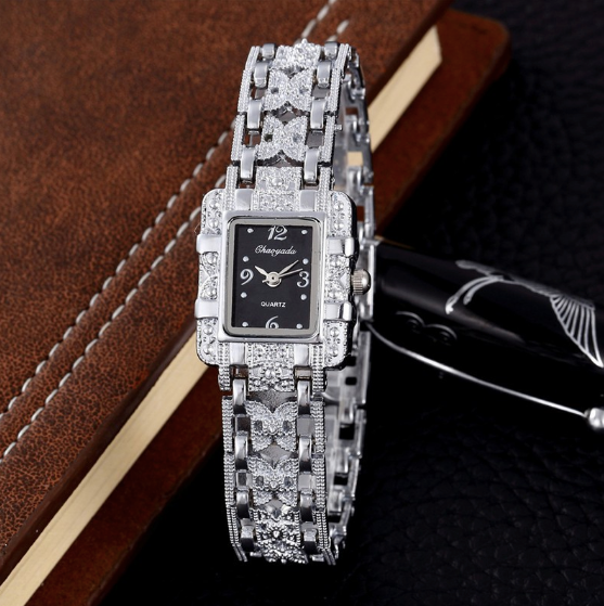 FEMINIMO RHINESTONE LUXURY WATCH