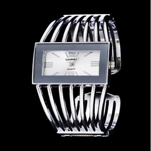 Silver ELEGANT FASHION 18K KOREAN WATCH (Trending item)