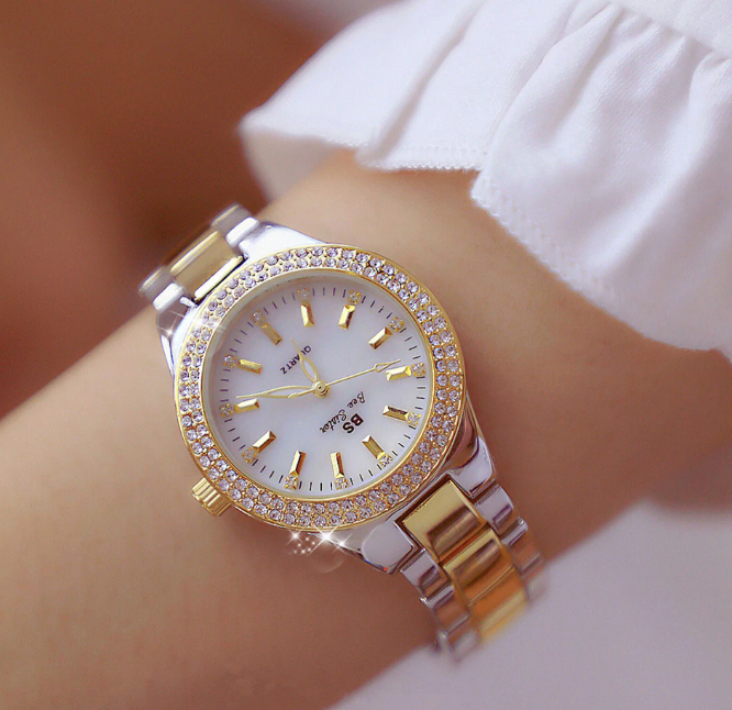 Diamond Luxury Femme Korean Watch