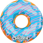 Blue and Pink Swirl Donut